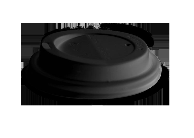 Kunststoffdeckel für warme Getränke- schwarz | Hitoffice.cz